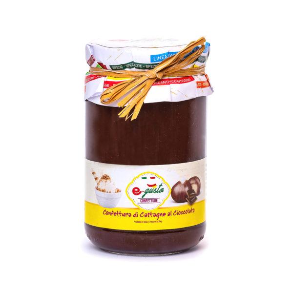 Confettura di Castagne al Cioccolato