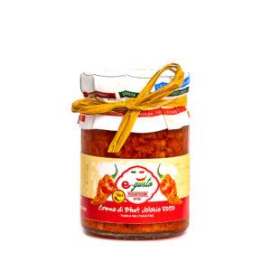 Crema di Bhut Jolokia Rosso